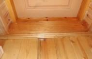 Как заменить и установить дверной порог