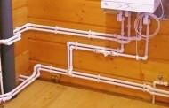 Разводка труб водоснабжения из полипропилена в частном доме