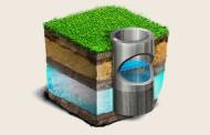 Устройство конструкции скважины на воду (на песок)