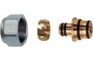 Концовка металлопластиковых труб 16x2.2-3/4 FAR