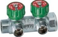 Коллектор FAR регулирующий (ВР-НР) 1-3/4 с 2 отводами