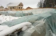 Что делать, если стройка уходит в зиму: консервируем недострой, продолжаем строиться