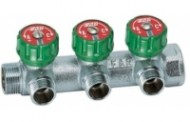 Коллектор FAR регулирующий (ВР-НР) 1-1/2 с 3 отводами