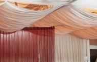 Нестандартная декорация потолка