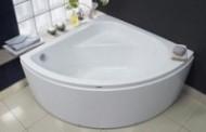 Угловая акриловая ванна Royal Bath Rojo 150