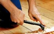 Циклевание древесины на полу
